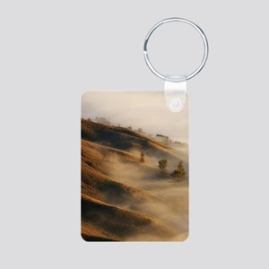 View from Te Mata Peak and Aluminum Photo Keychain