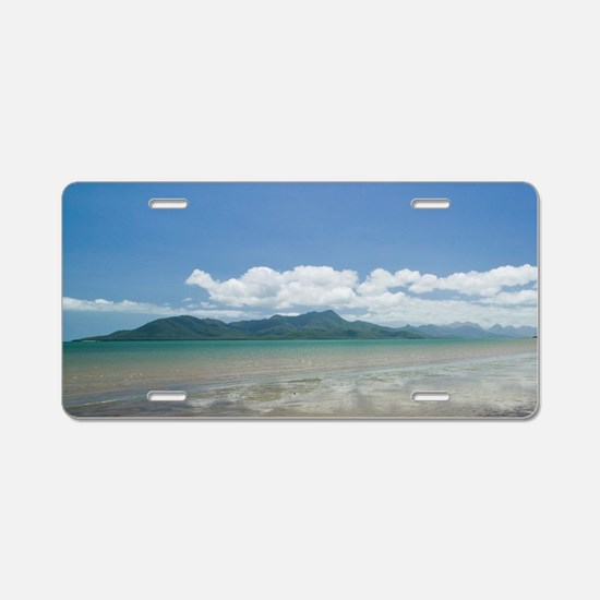 Cardwell. View from the Car Aluminum License Plate
