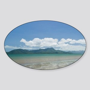 Cardwell. View from the Cardwell Pi Sticker (Oval)