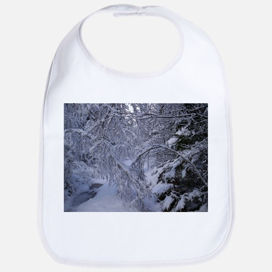 Winter landscape Bib