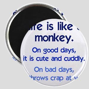 monkey_life3 Magnet