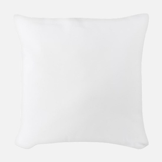 catlovepaw2 Woven Throw Pillow