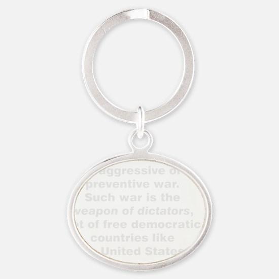 preventW Oval Keychain