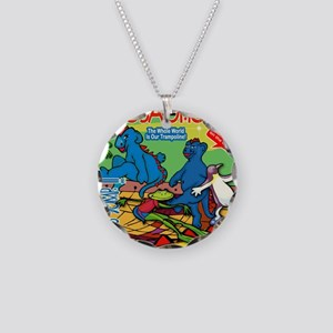 51-jump-the-whole-world-is-o Necklace Circle Charm