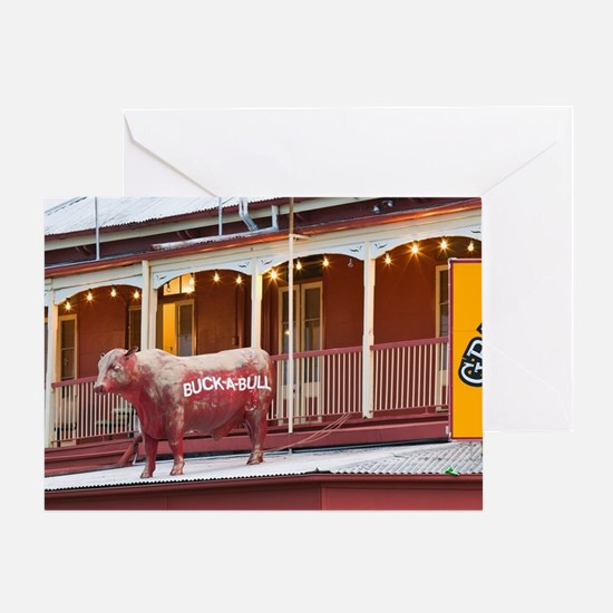 Rockhampton. Exterior of the Great W Greeting Card
