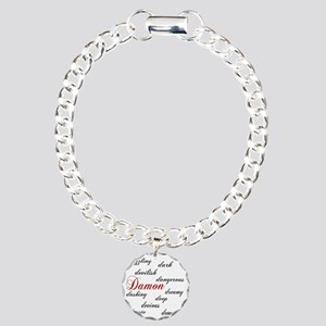 d is for damon Charm Bracelet, One Charm