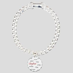 s is for stefan Charm Bracelet, One Charm