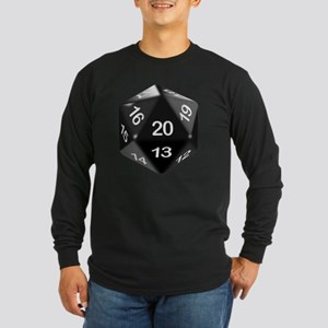 d20 t-shirt Long Sleeve Dark T-Shirt