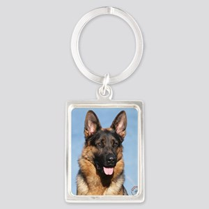 German Shepherd Dog 9Y554D-150 Portrait Keychain