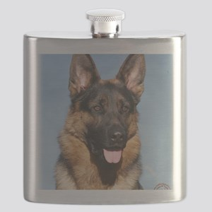 German Shepherd Dog 9Y554D-150 Flask