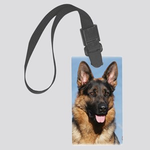 German Shepherd Dog 9Y554D-150 Large Luggage Tag