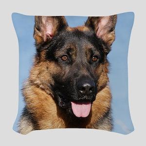 German Shepherd Dog 9Y554D-150 Woven Throw Pillow