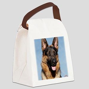 German Shepherd Dog 9Y554D-150 Canvas Lunch Bag