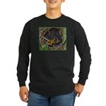 Birds Long Sleeve Dark T-Shirt