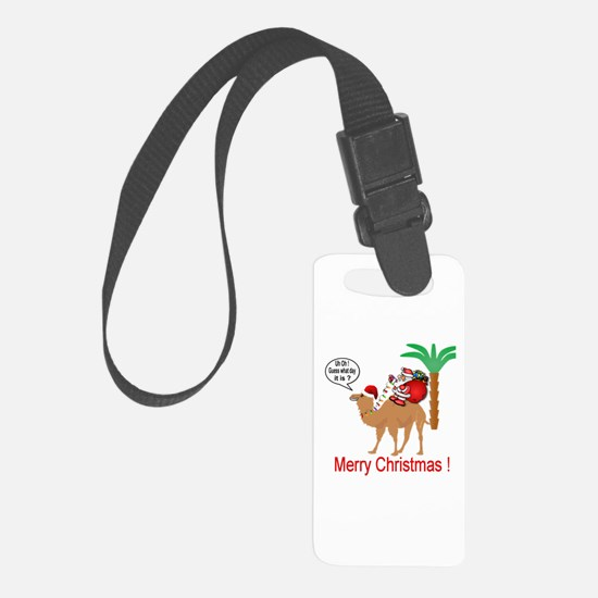 Hump Day Camel Merry Christmas Luggage Tag