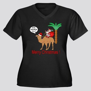 Hump Day Camel Merry Christmas Plus Size T-Shirt