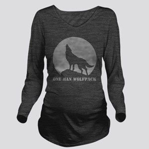 wolfpack2 Long Sleeve Maternity T-Shirt