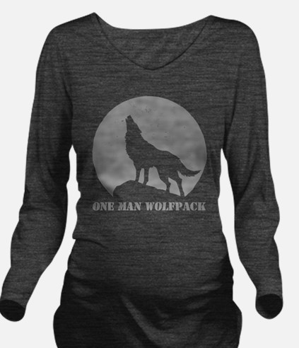 wolfpack2 Long Sleeve Maternity T-Shirt
