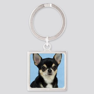 Chihuahua 9W092D-057 Square Keychain
