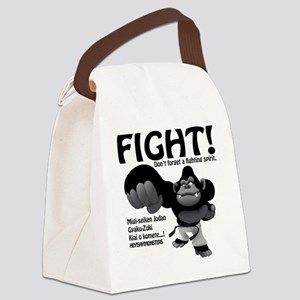 fight02 Canvas Lunch Bag