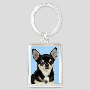 Chihuahua 9W092D-057 Portrait Keychain