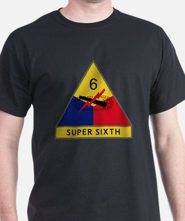 6th Armored Division - Super Sixth T-Shirt