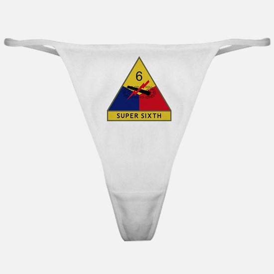 6th Armored Division - Super Sixth Classic Thong