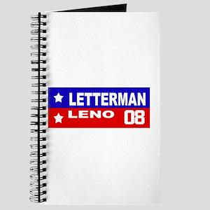 LETTERMAN / LENO 2008 Journal
