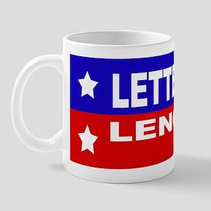 LETTERMAN / LENO 2008 Mug