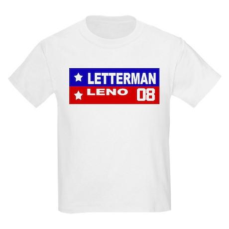 LETTERMAN / LENO 2008 Kids T-Shirt