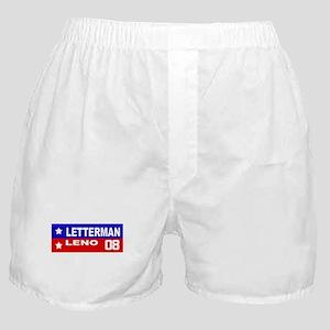 LETTERMAN / LENO 2008 Boxer Shorts