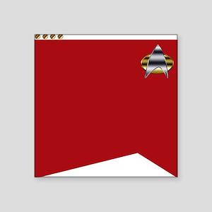 """Star Trek TNG tunic Square Sticker 3"""" x 3"""""""