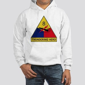 8th Armored Division - Thunderin Hooded Sweatshirt