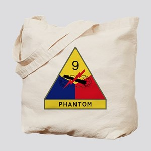 9th Armored Division - Phantom Tote Bag