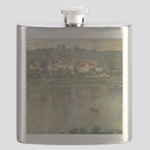 Vetheuil, by Claude Monet Flask