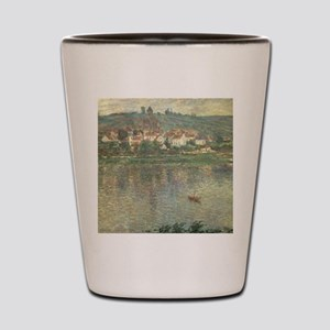 Vetheuil, by Claude Monet Shot Glass