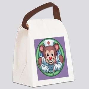 bear-rn-CRD Canvas Lunch Bag