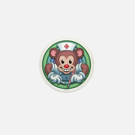 bear-rn-T Mini Button