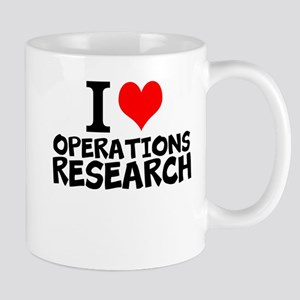 I Love Operations Research Mugs