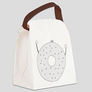 Bagel - cafe Canvas Lunch Bag
