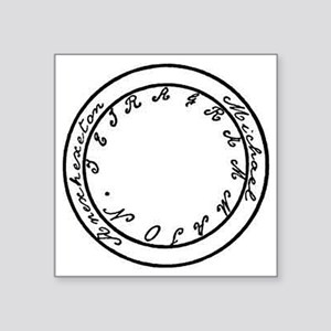 """ring of exorcist Square Sticker 3"""" x 3"""""""