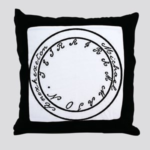 ring of exorcist Throw Pillow
