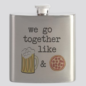 Beer and Pizza Flask