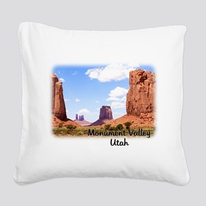 The North Window Square Canvas Pillow