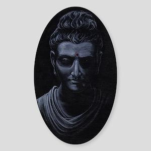 Buddha Sticker (Oval)
