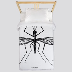Mosquito-Size Experiment for Cafe Press Twin Duvet