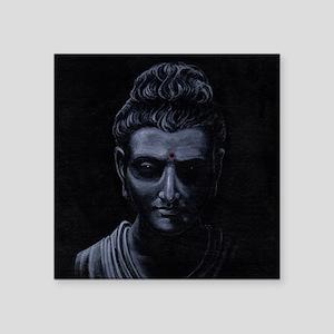 "Buddha Square Sticker 3"" x 3"""