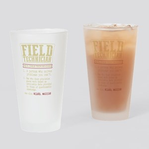 Field Technician Dictionary Term T- Drinking Glass