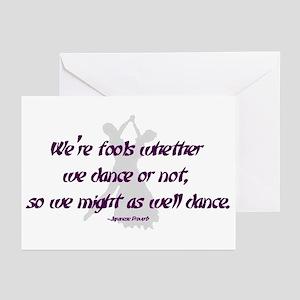 Ballroom Dance Fools Greeting Cards (Pk of 10)