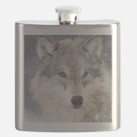 ms  Wolf Flask
